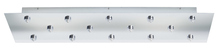 "Stone Lighting CPEJRT14PNHAL - Low Voltage 14 Light 9""X31"" Canopy EZ Jack Polished Nickel for Hal"
