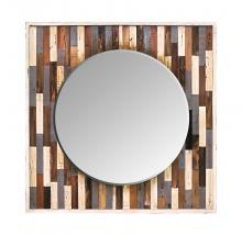 Varaluz 405A30 - Country Pine Reclaimed Frame Mirror