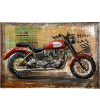 Varaluz 4DWA0107 - Triumph - Motorcycle Wall Art